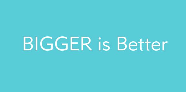 Bigger-is-better-website-design
